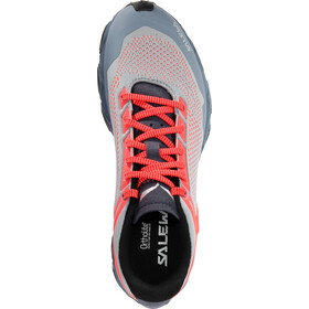 SALEWA Lite Train K Shoes Dame blue fog/fluo coral